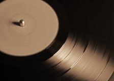 Uitstekend vinyl, sepia Stock Fotografie