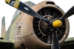 Uitstekend vliegtuig stock afbeelding