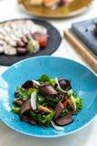 Uitstekend voedsel schotel Restaurant menu orde Uitstekende schotel, het creatieve concept van de restaurantmaaltijd, haute-coutu royalty-vrije stock fotografie