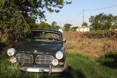 Uitstekend Volvo 112 auto Royalty-vrije Stock Afbeeldingen