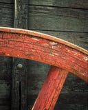 Uitstekend Wagenwiel Royalty-vrije Stock Foto