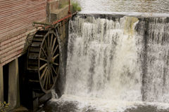 Uitstekend Waterwiel Stock Fotografie
