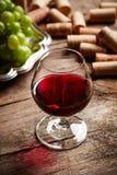 Uitstekend wijnstilleven Stock Foto