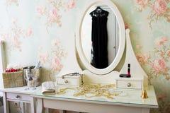 Uitstekend wit boudoir Stock Afbeelding