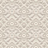 Uitstekend wit patroon Royalty-vrije Stock Foto