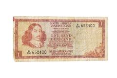 Uitstekend Zuidafrikaans jaren '70bankbiljet Royalty-vrije Stock Afbeeldingen