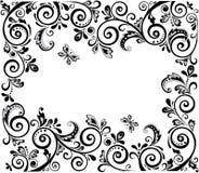 Uitstekend (zwart-wit) ontwerp Royalty-vrije Stock Foto's