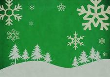 Uitstekende abstracte Kerstmisachtergrond vector illustratie