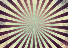 Uitstekende Abstracte Suneburst-Achtergrond royalty-vrije illustratie