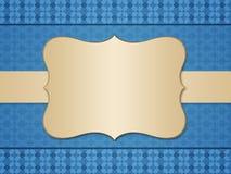 Uitstekende achtergrond met frame vector illustratie
