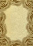 Uitstekende achtergrond met rozen. Royalty-vrije Stock Afbeeldingen