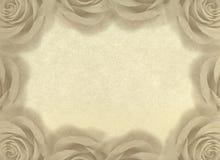 Uitstekende achtergrond met rozen. Royalty-vrije Stock Foto's