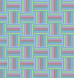Uitstekende achtergrond met zoete en lichte kleuren vector illustratie