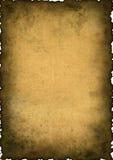 Uitstekende achtergrond - oud document Royalty-vrije Stock Afbeelding