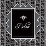 Uitstekende achtergrond Retro stijlkader van jaren '20 Royalty-vrije Stock Foto