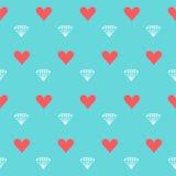Uitstekende achtergrond van het huwelijks de naadloze patroon Royalty-vrije Stock Afbeeldingen