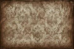 Uitstekende achtergrond van oud behang Stock Afbeelding