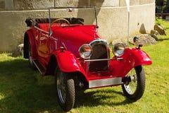 Uitstekende Aero-sportwagen royalty-vrije stock afbeelding
