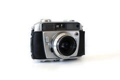 Uitstekende afstandsmetercamera die over wit wordt geïsoleerdn Stock Fotografie