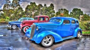 Uitstekende Amerikaanse Auto's Royalty-vrije Stock Fotografie