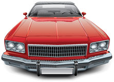 Uitstekende Amerikaanse convertibele coupé royalty-vrije illustratie