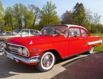 Uitstekende Amerikaanse Klassieke Auto, Chevrolet Biscayne Royalty-vrije Stock Afbeelding