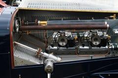 Uitstekende Amerikaanse motor van een auto Royalty-vrije Stock Foto