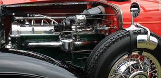 Uitstekende Amerikaanse motor van een auto Royalty-vrije Stock Fotografie
