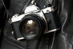 Uitstekende analoge filmcamera royalty-vrije stock fotografie