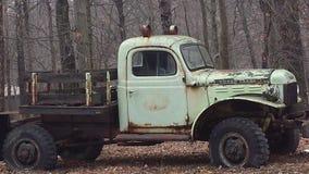 Uitstekende antieke vrachtwagen Royalty-vrije Stock Afbeelding