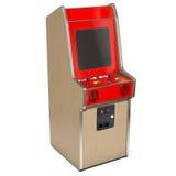 Uitstekende arcademachine Stock Afbeelding