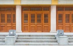 Uitstekende architechture van de deur Chinese stijl royalty-vrije stock afbeelding