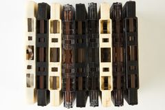 Uitstekende audiocassetteband Royalty-vrije Stock Foto's