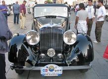 Uitstekende auto Bentley Royalty-vrije Stock Afbeeldingen