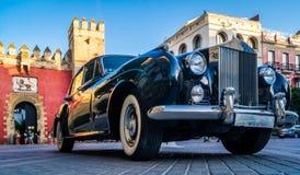 Uitstekende auto in de straten van Sevilla Stock Foto