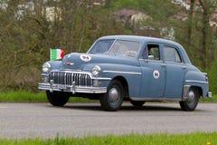 Uitstekende auto Desoto vanaf 1947 Stock Foto