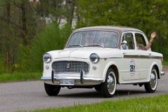 Uitstekende auto Fiat 1100 Lusso vanaf 1959 Royalty-vrije Stock Foto