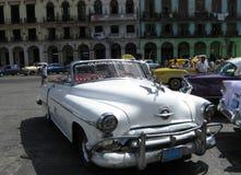 Uitstekende auto in Havana Cuba Stock Foto