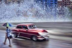 Uitstekende auto, Havana Fantasy Royalty-vrije Stock Fotografie