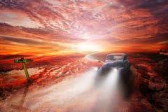 Uitstekende auto, Havana Fantasy Stock Fotografie