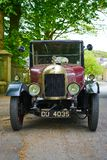 Uitstekende Auto - Morris Oxford Bullnose - Front View Royalty-vrije Stock Foto