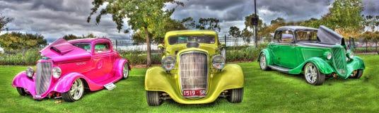 Uitstekende auto's Stock Foto