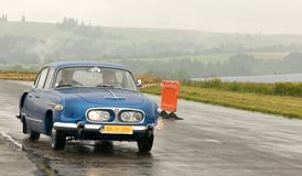 Uitstekende auto's Tatra 603 Royalty-vrije Stock Fotografie
