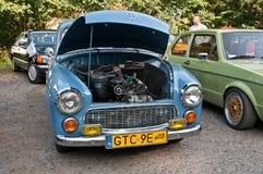 Uitstekende auto Syrena 105 Royalty-vrije Stock Afbeeldingen