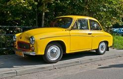 Uitstekende auto Syrena 105 Royalty-vrije Stock Foto's