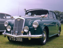 Uitstekende auto (Wolsely vijftien vijftig) Stock Foto