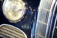 Uitstekende autokoplamp royalty-vrije stock fotografie