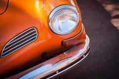 Uitstekende autokoplamp royalty-vrije stock afbeeldingen