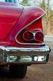 Uitstekende autolichten Stock Foto