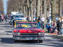 Uitstekende autoparade Stock Afbeelding